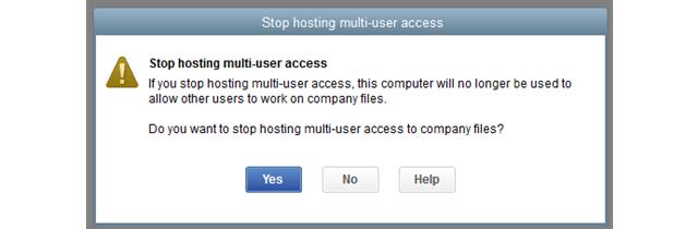 Stop Hosting QuickBooks Multi-user