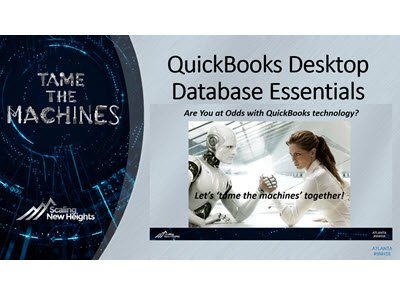 QuickBooks Desktop Database Essentials