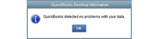 QB Verify Detected No Data Problems