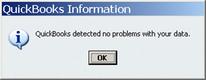 Verify Utility - No Problems Found