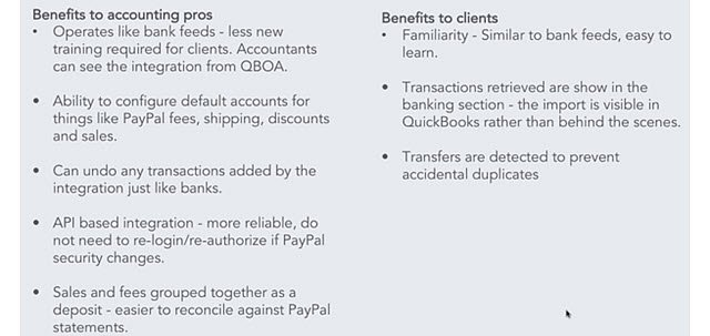 The New QBO Connect to PayPal App - insightfulaccountant com