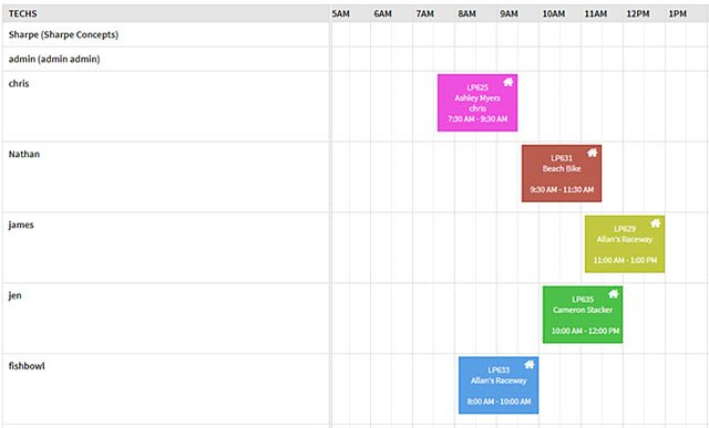 Lilypad Field Service Scheduler