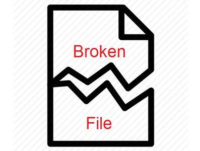 Broken File