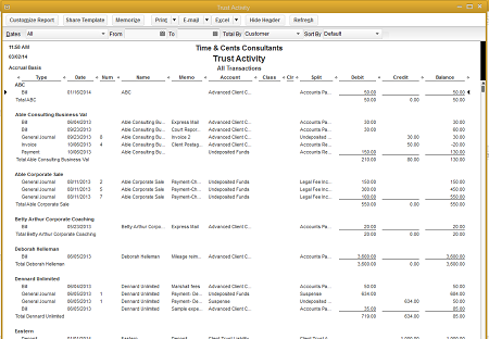 Handling Client Funds in QuickBooks - Part 2: Reporting ...