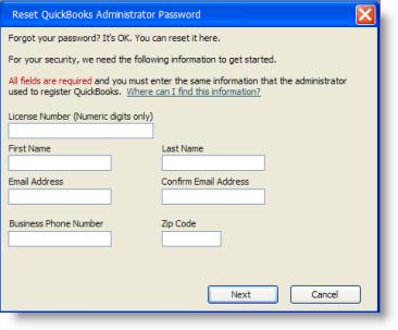 Password Reset Validation