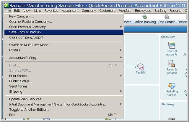 Save Copy or Backup