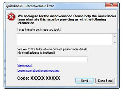 QB Unrecoverable Error