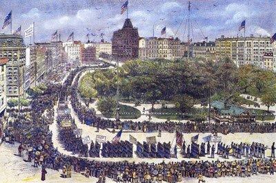 Labor Day Parade NY-1882