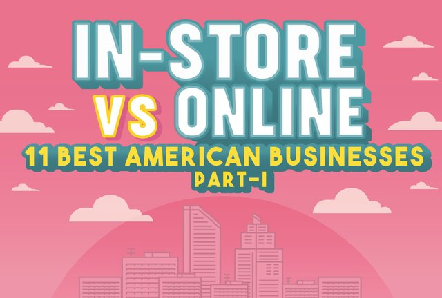 In-store vs online
