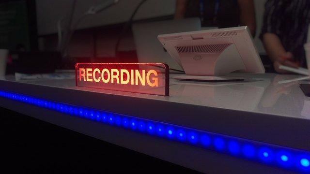 webinar recording