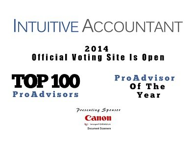 It's Time To Vote For Intuitive Accountant's ProAdvisor of the Year