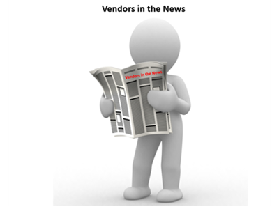 Vendors in the News