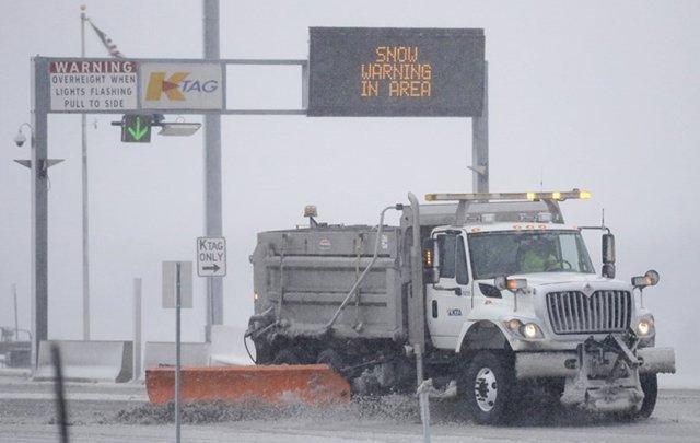Kansas Snow Plow