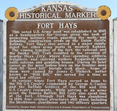 Fort_Hays_Kansas_Marker