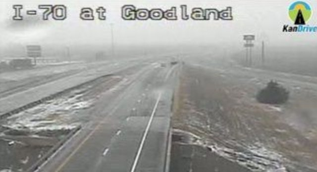 I-70_closed_at_Goodland_Kansas