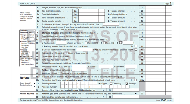 tax tuesday  are you ready to file the new irs 1040 form