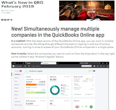 QuickBooks Online Updates - insightfulaccountant com