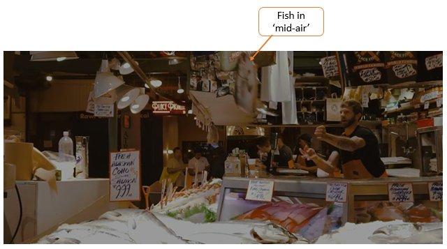 Pike's Fish Market Seattle