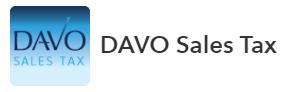 Davo Sales Tax Logo